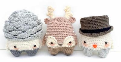 Lalylala Amigurumi Doll Crochet Patterns