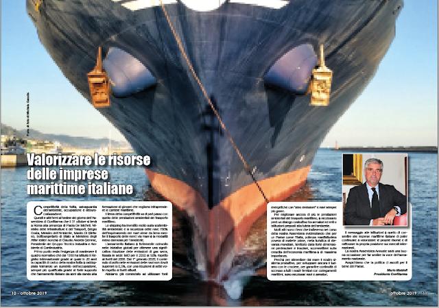 OTTOBRE 2019 PAG. 10 - Valorizzare le risorse delle imprese marittime italiane