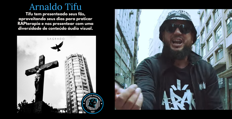Para Arnaldo Tifu a rima Nunca Para! | Sagrado