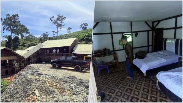 Melihat Bedeng 'Mewah', Hunian WNA China di Area Tambang Emas Sukabumi