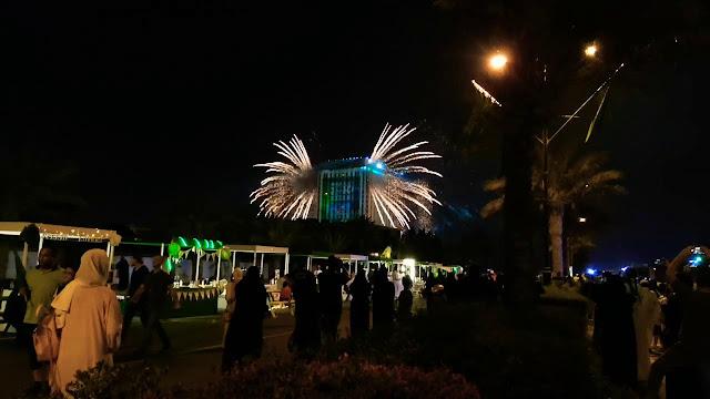 فعاليات اليوم الوطني 90 في جدة أبرزها عروض الطائرات الاستعراضية وحفل الهضبة عمرو دياب