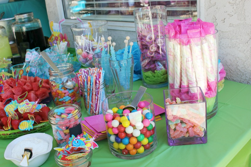 DIY Pool Party Ideas - 1st Birthday Party