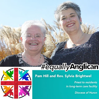 #equallyAnglican - picture of Pam Hill and Rwv. Sylvia Brightwell