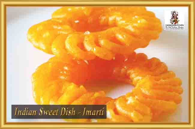 Indian Sweet Dishes - Imarti
