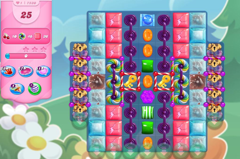 Candy Crush Saga level 7530