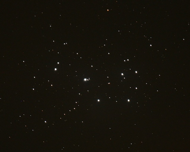 M45 110 sec with tracking