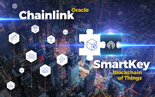 ​​SMARTKEY AND CHAINLINK TO COLLABORATE IN GOVERNMENT-APPROVED BLOCKCHAIN PROJECT