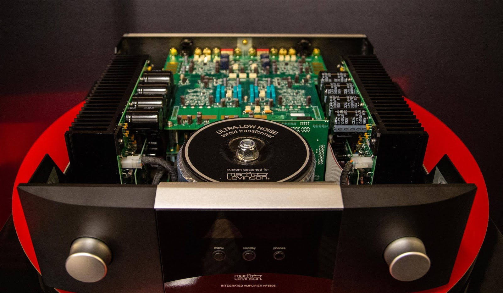 Wizard High-End Audio Blog: Mark Levinson 5805 integrated