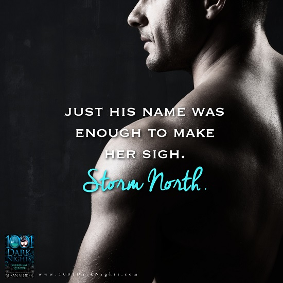 Just his name was enough to make her sigh, Storm North. Securing Jane by Susan Stoker.
