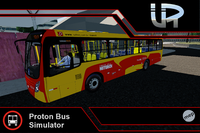Skin Proton Bus Simulator - Mega Plus VW 17.230 OD Cidade de Niteroi - Peixoto