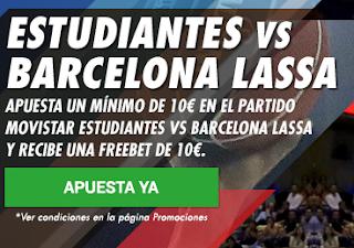 circus promocion 10 euros Estudiantes vs Barcelona 22 octubre