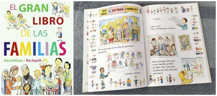 Cuento, libro infantil El gran libro de las familias, diversidad familiar