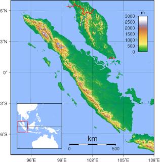 peta pulau sumatera dan wilayah sekitarnya indonesia wisataarea.com