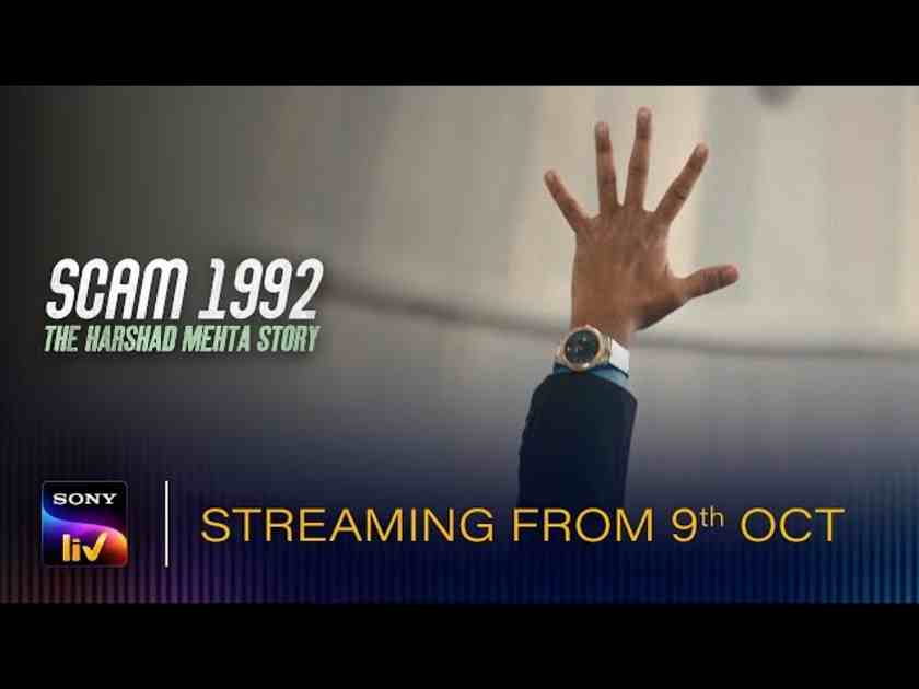 Scam 1992 is streaming on SonyLIV