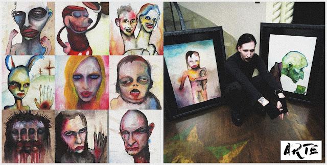 Pinturas de Marilyn Manson