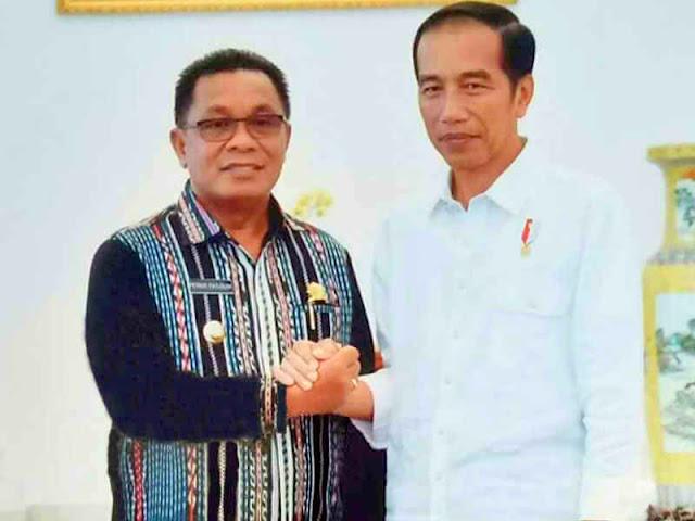 Presiden Jokowi Terima Informasi Perkembangan Pembangunan MTB