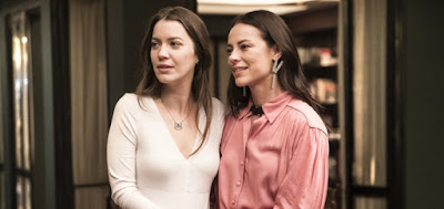 A musa levará mais de cem capítulos para descobrir que Fabiana (Nathalia Dill) é uma víbora