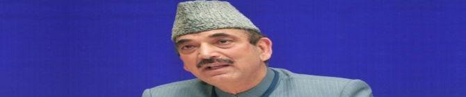 Hope Centre Would Not Reject Demand For Restoration of Statehood In J&K Before Polls: Ghulam Nabi Azad