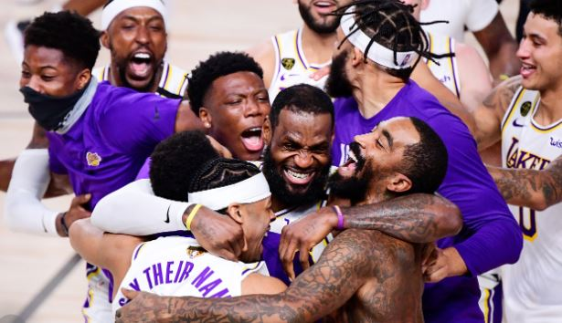 LA Lakers copped their 17th title