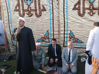 د.جلال يشارك آلاف المواطنين صلاة عيد الأضحى المبارك بالساحة الشعبيه بمركز ديرب نجم
