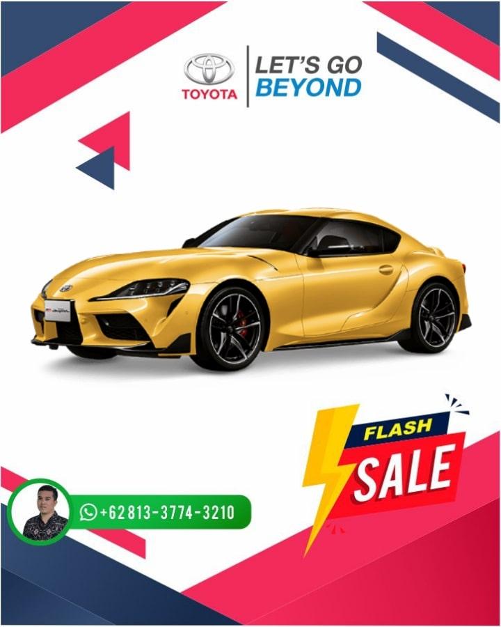 Harga Promo Toyota Supra Bali