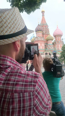 pencil vs camera - st basil cathedral
