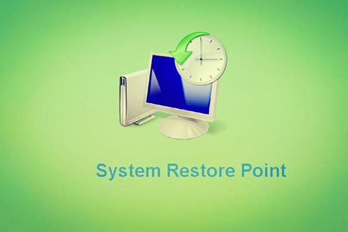 Cara Cepat Mengembalikan Laptop Seperti Baru dengan Fitur Restore Point