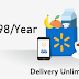 Free Unlimited Delivery Subscription for Walmart Grocery in $98