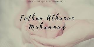 Arti nama Fathan adalah pemenang, kemenangan