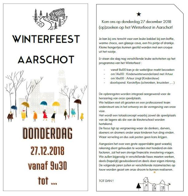 Winterfeest Aarschot 27/12/2018 vanaf 9u30
