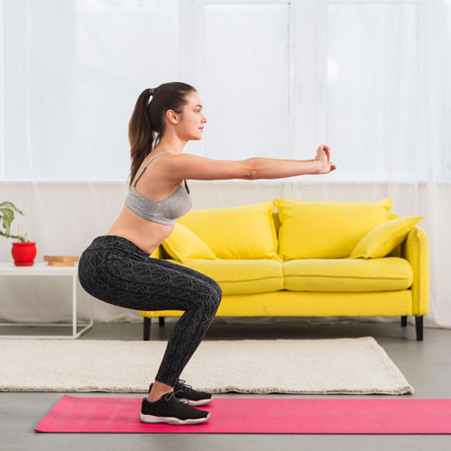 Cara Melakukan Gerakan Squat yang Benar