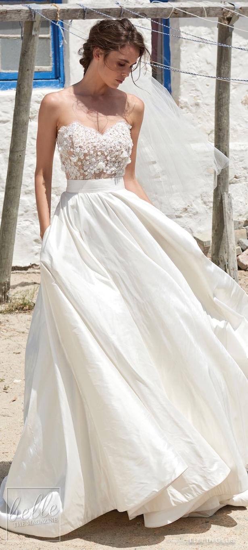 K'Mich Weddings - wedding planning - wedding dresses - two piece white - berta collection 2019