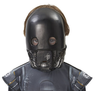 DISFRACES - STAR WARS Rogue One Máscara de K-2SO | Rubies  PELICULA 2016 | Comprar en Amazon España