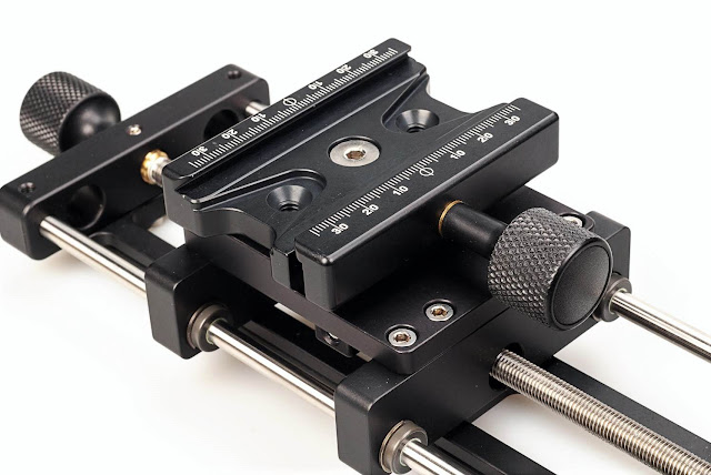 Hejnar MS5P_10 Linear Motion Carriage w/ F63b clamp detail