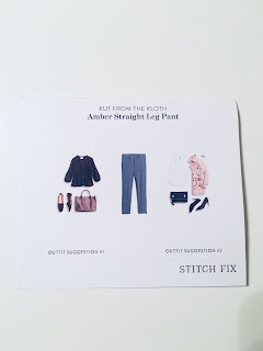 October 2017 Stitch Fix Review. Kut from the Kloth Amber Straight Leg Pant | brazenandbrunette.com