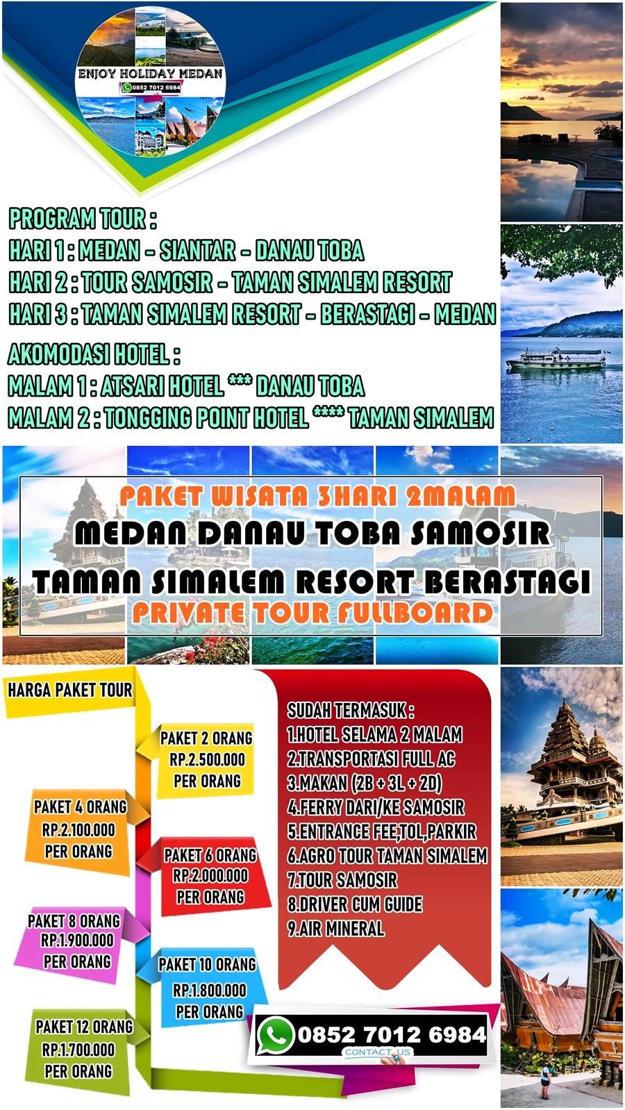 Honeymoon Di Taman Simalem Resort 3H2M