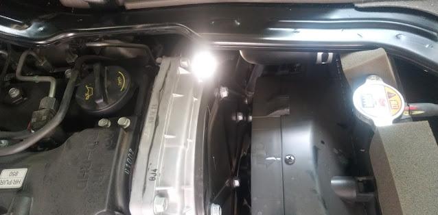 Cách bổ sung nước làm mát động cơ Hyundai H150 đông lạnh
