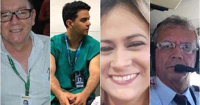Saiba quem são os piauienses que morreram em acidente de avião no Ceará