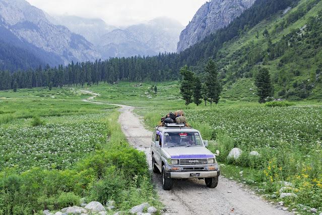 Thal to Kumrat Road