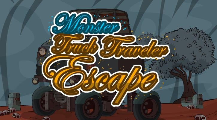 GenieFunGames Monster Truck Traveler Escape Walkthrough