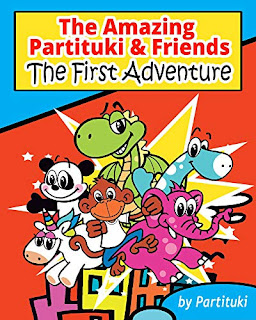 The Amazing Partituki and Friends The First Adventure - Children book by Partituki