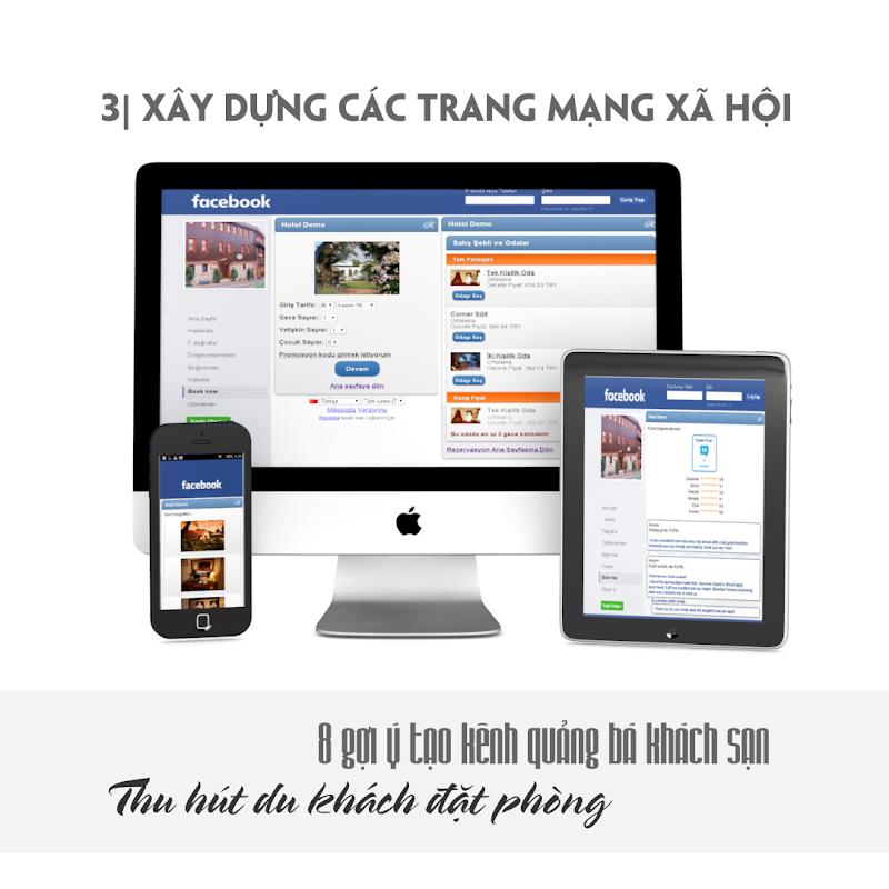 8 Gợi ý quảng bá khách sạn - trang mạng xã hội cho khách sạn
