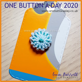 One Button a Day 2020 by Gina Barrett - Day 51 : Urchin I