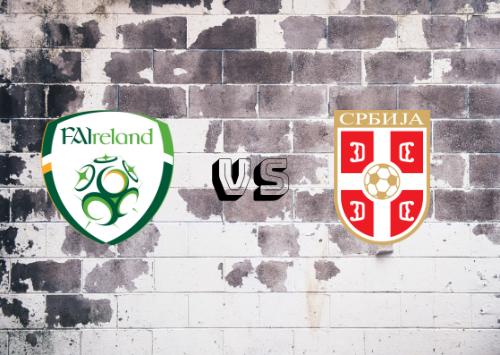 República de Irlanda vs Serbia  Resumen y goles