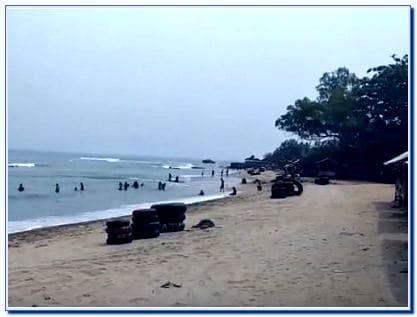 Pantai di Serang Banten