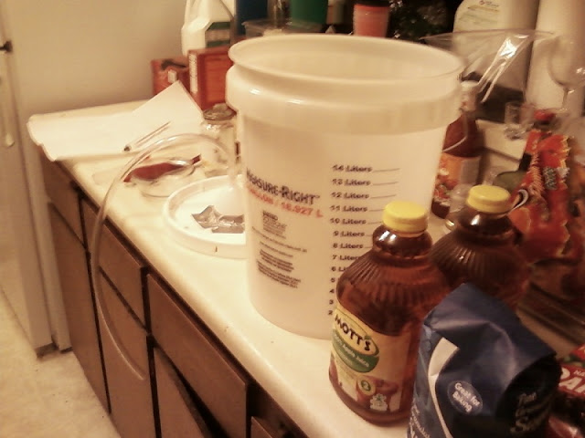 Hard Cider preparation