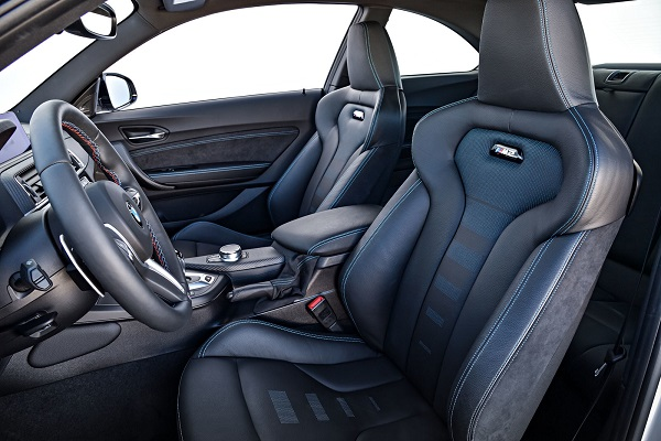 Interior BMW M2 Competition