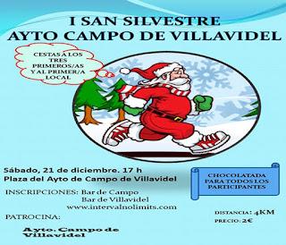 Clasificaciones San Silvestre Campo Villavidel