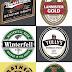 Logos de Cerveza de Juego de Tronos.