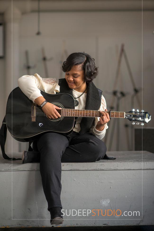 Musician Portrait Guitar Music - SudeepStudio.com Ann Arbor Senior Pictures Photographer